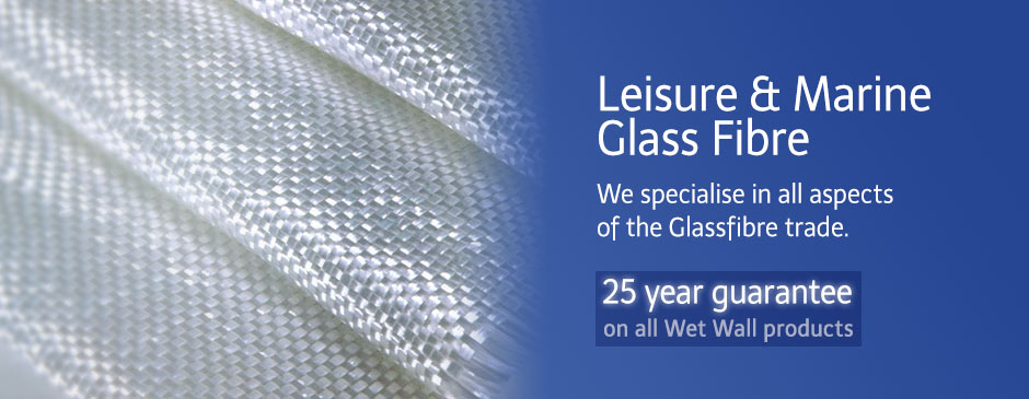 25 year guarantee glassfibre wet wall