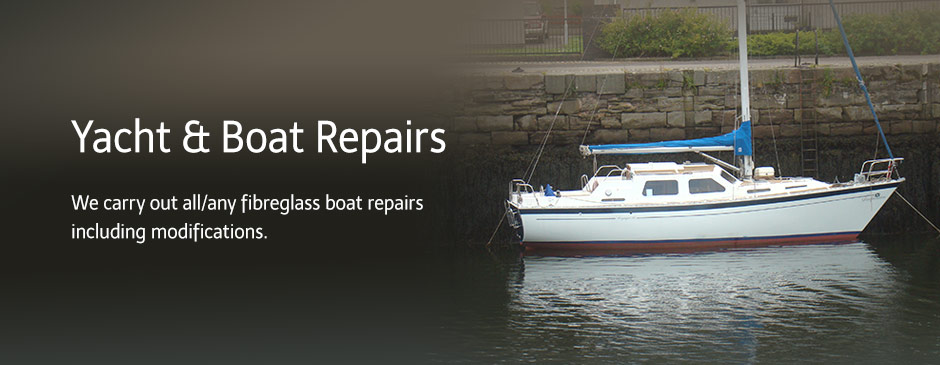 Boat Repairs Yacht Repairs - Fibre Glass Moulding - Leisure and Marine Glass Fibre Ltd