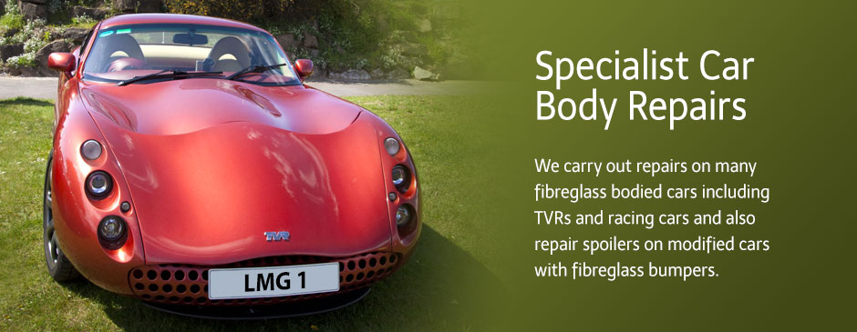 Car Body Repairs - FibreGlass Moulding - Leisure and Marine Glass Fibre Ltd